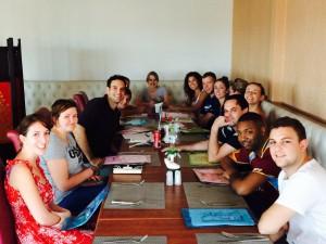 First Thai Meal TESOL Group Thailand